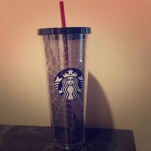 NWT limited Edition Starbucks Halloween Cold Cup